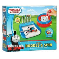Thomas & Friends 2 in 1 Doodle & Spin Art Desk & Swirling Paint Station Set 5+