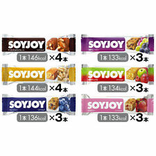SoyJoy 30g × 20pcs Fruits Snack Bar 6 taste Healthy Soybean nutritional food b81