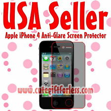 Anti Glare Matte Screen Protector Cover Film Guard for Apple iPhone 4S 4GS