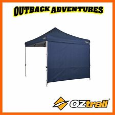 OZTRAIL HEAVY DUTY BLUE 3M DELUXE GAZEBO SOLID SIDE WALL KIT BLUE NEW MODEL