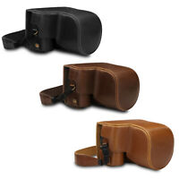 MegaGear Ever Ready Leather Camera Case compatible with Nikon Coolpix B600
