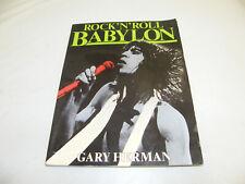 SEX DRUGS & ROCK N ROLL BABYLON BUCH 1982 VIELE BILDER