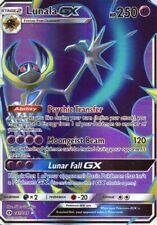 Pokemon Lunala GX Holo - 141/149 - Proxy Karte - Lunala