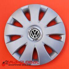 """4 COPRICERCHI BORCHIE 15"""" VW VOLKSWAGEN BORA PASSAT LUPO GOLF AURAR"""