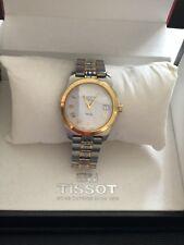 Vintage Tissot PR50 Quartz Stainless Steel Two Tone Mens Watch 1244