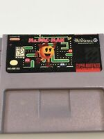 Ms Pacman (Super Nintendo SNES, 1991)  Man Cartridge Only, Untested