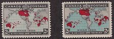 KAPPYSSTAMPS ID7117 CANADA 85 85 MINT SET HINGED CATS 85.00