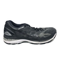 Asics Gel Nimbus 19 Running Shoes Mens Size 9.5 9 1/2 Black White Sneakers T700N