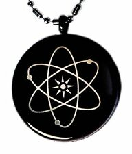 Mineral Science JapaneseTechnology MST Pendant (Black Plating)-Healing (ENERGY)