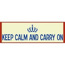 KEEP CALM AND CARRY ON SIGN STENCIL - NEW! - The Artful Stencil
