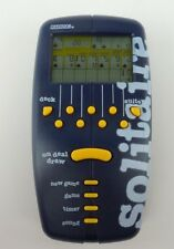Radica Solitaire Electronic Handheld Pocket Card Game 1998 Blue
