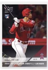 2018 Topps Now Shohei Ohtani RC #42J Kanji 1st Angels Rookie 3 Home HR