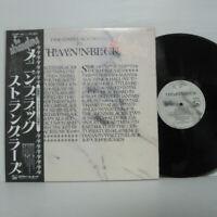 The Stranglers – Meninblack LP 1981 JAPAN Liberty K28P-142 MEN IN BLACK w/ obi