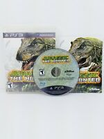 JURASSIC THE HUNTED - PLAYSTATION 3 PS3 GAME - COMPLETE TESTED CIB
