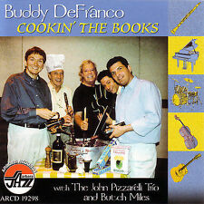 Audio CD: Cookin the Books, Buddy Defranco. Excellent Cond. . 780941129823