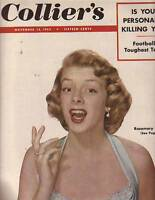 1952 Colliers November 15 - Rosemary Clooney; George Connor and Chicago Bears