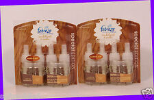 2 Febreze Noticeables Refills SANDALWOOD & SOOTHE Scented Oil LIMITED EDITION