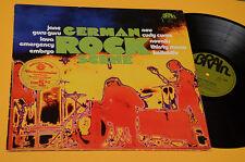 EMBRYO GURU GURU LAVA EMERGENCY...LP GERMAN ROCK SCENE ORIG GREEN BRAIN EX 1973