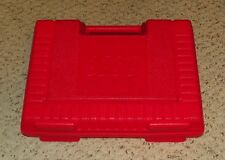 """LEGO - Storage Case w/ Molded Handle & Panel Opening - 12"""" x 10"""" x 3"""" - Red"""
