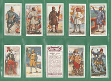MILITARY  /  NAVY  -  HISTORY  OF  NAVAL  DRESS  -  SET  OF  50  CARDS