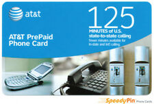 AT&T 125 Minute Prepaid Phone Card (Calling Card) - 3 Pack Sale