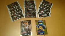 77 Cards (15 Tüten+2 XXL Cards) LEGO Ninjago Trading Cards Serie 3
