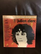 vinyl records- Julien Clerc - Le Disque D'or - VG Condition- Made In France.