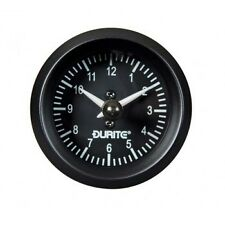 """Land Rover Series 1 2 2a 3 Durite Dash Panel 2"""" Auxiliary Analogue Clock Gauge"""