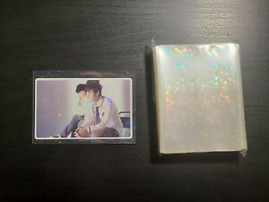 Holographic Stars Card Sleeves