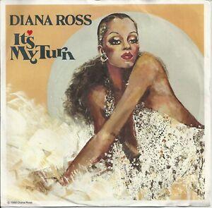 "Diana Ross - It's My Turn 7"" Vinyl Single 1980"