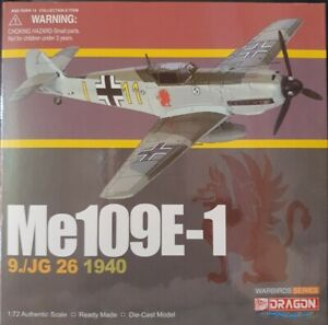 Dragon Wings Warbirds Series Me 109E-1 9./JG 26 1940 item:50072 1:72