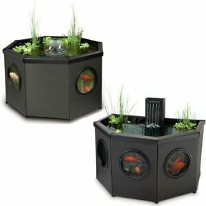 Blagdon Affinity View Patio Pond Free Standing With Pump Filter LED Light