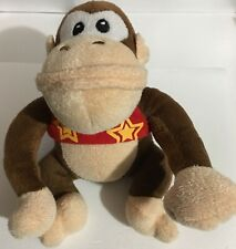 "Super Mario Donkey Kong Country Returns: 6"" Plush Diddy Kong: Plushy Toy: No Hat"