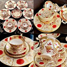 "Rare Vintage Abbeydale ""Imperial English Fine Bone China 26 Piece Dinner Service"