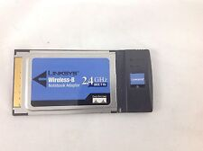 Linksys Wireless-G Notebook Adapter WPC11 ver 4 & WPC11 ver 3 lot of 2