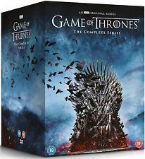 GAME OF THRONES  1-8 2011-2019 COMPLETE Epic TV Seasons Series Rg2 Eu DVD not US