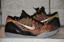 *FADE TO BLACK* NIKE KOBE 9 MULTICOLOR ID 9.5 DS mamba moment mc ix x xi grinch