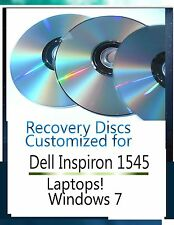 Windows 7 recovery disc for Dell Inspiron 1545 laptops