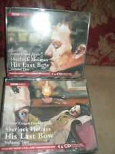 Audio books-Sherlock Holmes His Last Bow Volumes 1 and 2