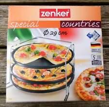 Zenker - Pizzabäcker-Set - für 3 Pizzas auf einmal