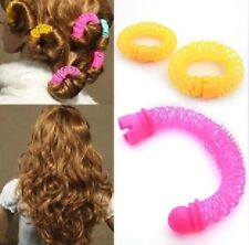 8pcs Curly Hair Curls Roller Hair Styling Tool Accessories Magic Spiral Ringlets