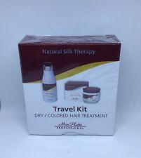 MON PLATIN PROFESSIONAL TRAVEL KIT, Dry/Colored Hair Treatment 2X50ml