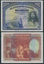 España  Billete  1000 pesetas 1928 EBC/XF