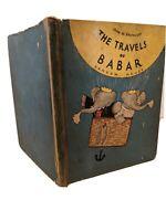 THE TRAVELS OF BABAR JEAN DE BRUNHOFF 1934 HC