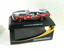 qq H 2402 SUPERSLOT FORD MUSTANG BOSS '69 No 16 - Scalextric UK -
