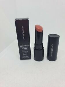 New in Box bareMinerals Gen Nude Radiant Lipstick 0.12oz/3.5g, Notorious