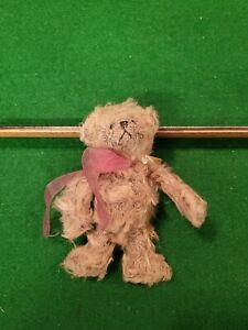 "Miniature 5.5"" Gund Bartons Creek Collectors Mohair Bear Called Brown Sugar."