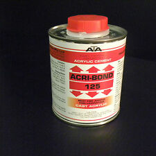 ACRI-BOND 125 Solvent Cement Adhesive Glue 500ml for Acrylic, HIPS, ABS, PC