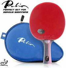 NEW for Expert Palio 3 Star Table Tennis Bat AK47 Rubbers, comfortable handle UK