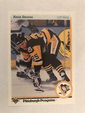 1990-91 Upper Deck #14 - Kevin Stevens (RC) - Pittsburgh Penguins